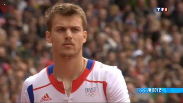 JO 2012 : Christophe Lemaitre entre en piste