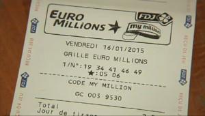 Le 13 heures du 14 janvier 2015 : Record de ventes pour la Française des jeux - 1600.771