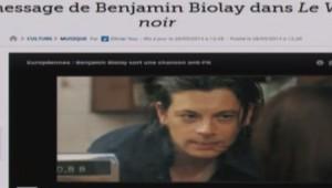 """""""Vol noir"""" de Benjamin Biolay"""