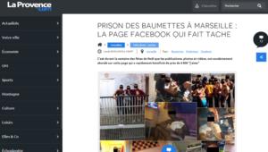 Baumettes Facebook Prisonniers