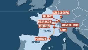 carte train SNCF