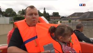 Le 20 heures du 19 juin 2013 : Inondations dans les Pyr�es : comment s%u2019organise les secours ? - 125.402