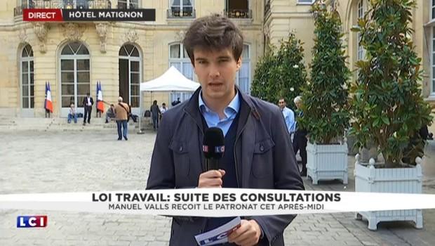 """Loi Travail : """"Enorme déception"""" pour Pierre Gattaz après son rendez-vous avec Manuel Valls"""