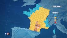 Météo : 7 départements en vigilance orages, pluie, inondations