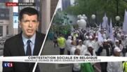 """Nouvelle journée de grève en Belgique : """"Un effet de contagion des mouvements sociaux français"""""""