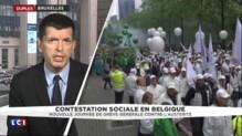 """Nouvelle journée de grève générale en Belgique : """"Un effet de contagion des mouvements sociaux français"""""""