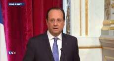 "Ukraine : Hollande évoque la possibilité d'""élever le niveau de sanctions"""