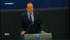 """Hollande : """"Nous devons réfléchir à la place de l'euro dans le monde"""""""
