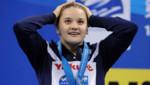 La nageuse Mélanie Hénique médaillée de bronze en 2011.
