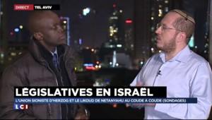 """Législatives en Israël : """"Je suis très satisfait"""", dit un candidat du Likoud"""
