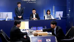Partie de go entre Le champion Lee Se-Dol et la machine de Google, 9/3/16, Séoul