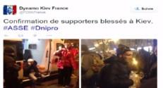 Supporters de St-Etienne agressés à Kiev, 11/12/14
