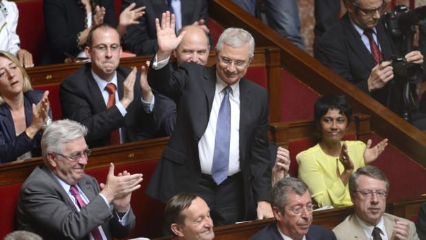 Claude Bartolone, le 26 juin 2012 à l'Assemblée nationale.