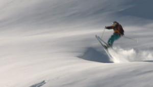 freeride ski montagne