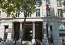 Les locaux de la BPI à Paris, boulevard Haussmann.