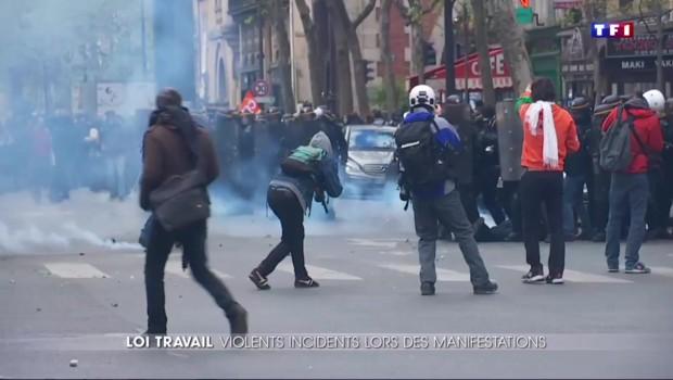 Loi Travail : retour sur une journée de manifestations sous haute tension