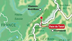 alpinistes avalanche Mont Blanc 13/08/13