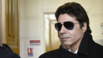 Jean-Luc Lahaye à son arrivée au tribunal correctionnel de Paris, lundi 23 mars 2015