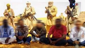 Les otages français au Sahel au début de leur détention