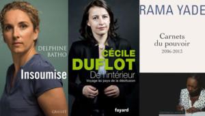 livres Cécile Duflot Delphine Batho Rama Yade