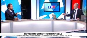 """Révision constitutionnelle : Lefebvre regrette """"les gesticulations dans un faux débat"""""""