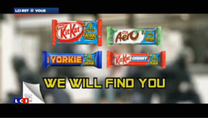Un GPS dans des barres chocolatées pour vous retrouver