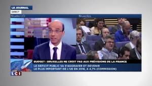 En 2016, le pire déficit public de l'UE sera celui de la France selon Bruxelles