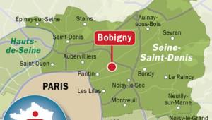 Infographie Bobigny carte de situation