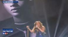 Mariah Carey lors d'un catastrophique concert au Japon, octobre 2014.