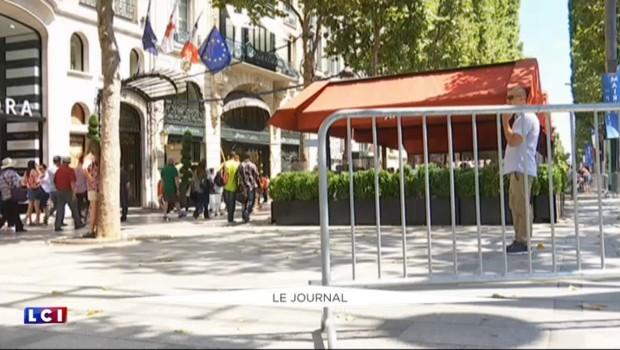 Tour de France : sécurité renforcée sur les Champs-Élysées pour l'arrivée des coureurs