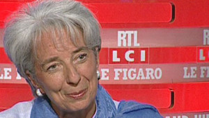 Christine Lagarde au Grand Jury le 27 avril 2008