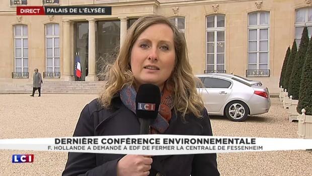 Conférence environnementale : Hollande demande à EDF la fermeture de Fessenheim