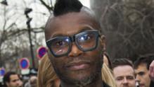 Djibril Cissé en mars 2014 à Paris