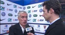 """France-Brésil (1-3) : """"On a été punis sur nos erreurs"""", déclare Deschamps"""