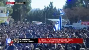 """Hommage aux victimes juives : """"L'antisémitisme n'a pas sa place en France"""" lance Royal"""