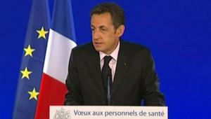 Nicolas Sarkozy hôpital civil Strasbourg