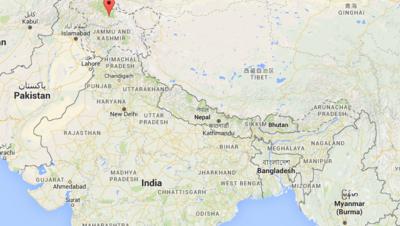 Région du Cahemire en Inde