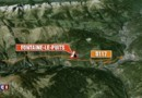Deux rochers bloquent les accès aux stations des Ménuires et de Val Thorens