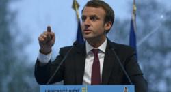 Emmanuel Macron à la soirée de clôture de l'université du Medef