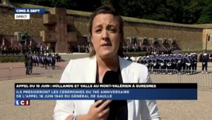 François Hollande et Manuel Valls commémorent l'appel du 18 juin 1940