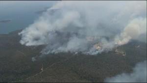 Risque accru d'incendies en Australie : les images