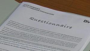 TF1/LCI Questionnaire dans les prisons