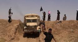 Image d'un groupe de combattants de l'Etat islamique