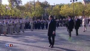 Invité par Hollande, Sarkozy présent pour les cérémonies du 11-Novembre