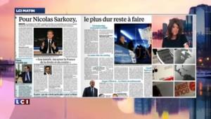 Revue de presse : les défis de Nicolas Sarkozy