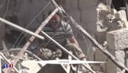 Syrie : au moins 49 civils tués dans des bombardements