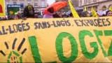 Logements vacants: manifestation pour l'application de la loi de réquisition