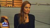 """Angelina Jolie auprès des enfants syriens, une """"expérience qui déchire le coeur"""""""