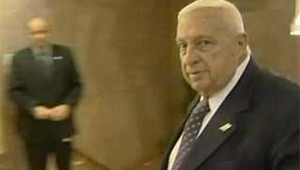 Ariel Sharon démission