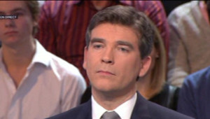 Arnaud Montebourg, invité sur France 2, le 24 janvier 2013.